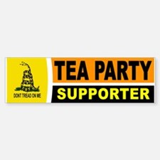 TEA PARTY BUMPER STICKER Bumper Bumper Bumper Sticker