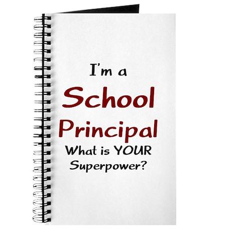 school principal Journal