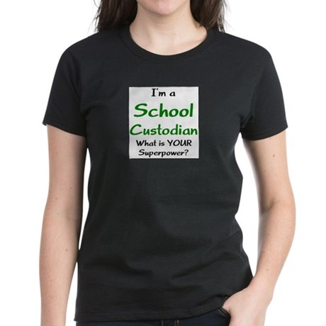 school custodian Women's Dark T-Shirt