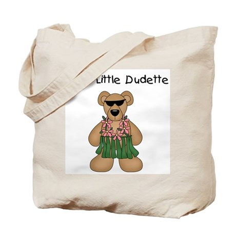 Cool Little Dudette Tote Bag