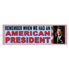 REAGAN BUMPER_001.jpg Bumper Car Sticker