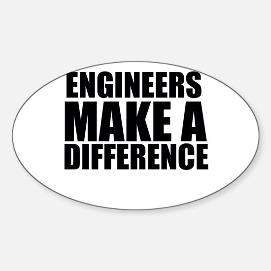 Engineers Make A Difference Decal
