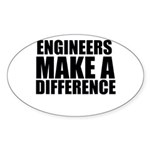 Engineers Make A Difference Sticker
