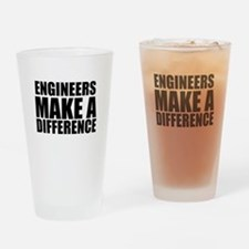Engineers Make A Difference Drinking Glass