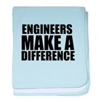 Engineers Make A Difference baby blanket