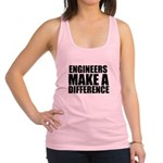 Engineers Make A Difference Racerback Tank Top