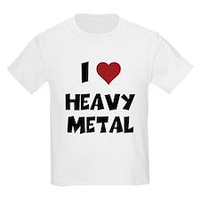 I Love Heavy Metal T-Shirt