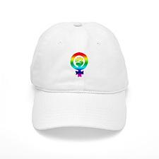 Rainbow Feminist Baseball Cap