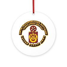 COA - 106th Transportation Battalion Ornament (Rou