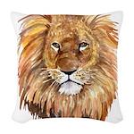 liontile.jpg Woven Throw Pillow
