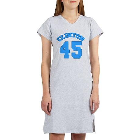 Hillary Clinton 45 Women's Nightshirt