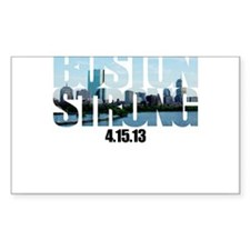 Boston Strong Skyline Decal