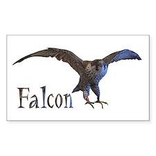 falcon Rectangle Decal