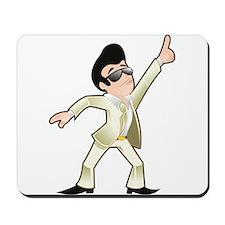 Disco dancer Mousepad