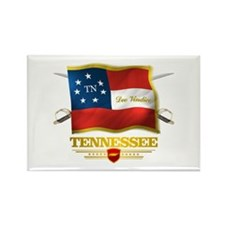 Tennessee -Deo Vindice Rectangle Magnet