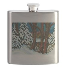 Winter in Muskoka Flask