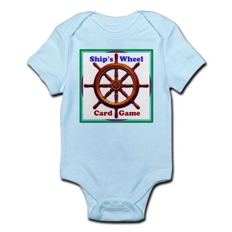 The Ships Wheel Card Game Body Suit