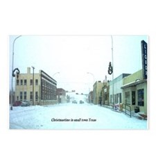 Unique Christmas texas Postcards (Package of 8)