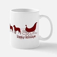 """Bullmastiff """"Sleigh"""" Mug"""