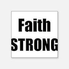 Faith STRONG Sticker