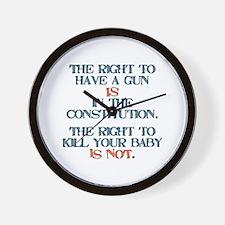 Rights Wall Clock