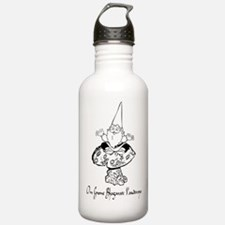 Medition gnome Water Bottle