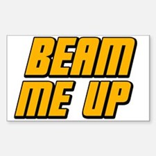 Beam Me Up Decal