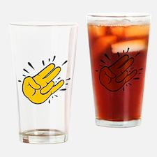 SHOCKER CARTOON Drinking Glass