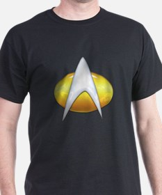 Star Trek Classic Badge Insignia T-Shirt