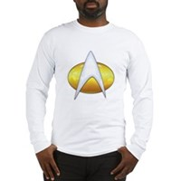 Star Trek Classic Badge Insignia Long Sleeve T-Shi