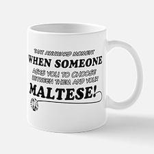 Maltese breed designs Mug