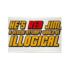 He's Red Jim. A Rescue Attempt Would Be Illogical
