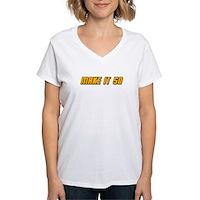 Make It So Women's V-Neck T-Shirt