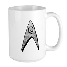 Star Trek Engineer Badge Insignia Mug