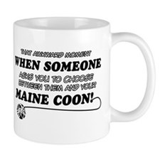 Maine Coon breed designs Mug