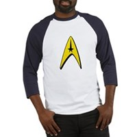 Star Trek Captain Badge Insignia Baseball Jersey