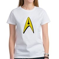 Star Trek Captain Badge Insignia Women's T-Shirt