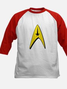 Star Trek Captain Badge Insignia Kids Baseball Jer