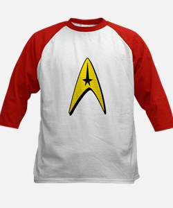 Star Trek Captain Badge Insignia Tee