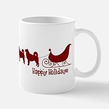 "Alaskan Malamute ""Sleigh"" Mug"