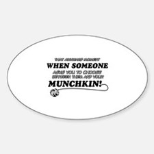 Munchkin breed designs Decal