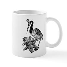 Reading Stork Mug