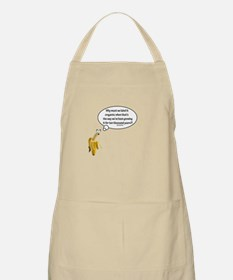 Why must we label it organic Quote Apron