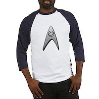 Star Trek Science Badge Insignia Baseball Jersey