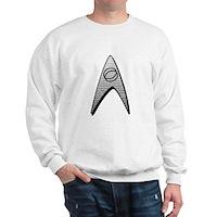 Star Trek Science Badge Insignia Sweatshirt
