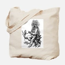Native American Reader Tote Bag
