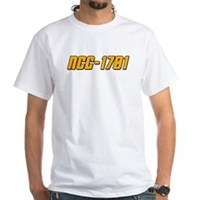NCC-1701 White T-Shirt