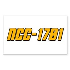 NCC-1701 Decal