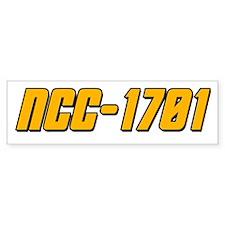 NCC-1701 Bumper Sticker