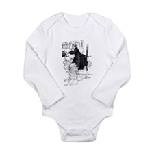 Thoughful reader Long Sleeve Infant Bodysuit